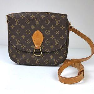 Louis Vuitton Monogram Saint Cloud GM Shoulder Bag